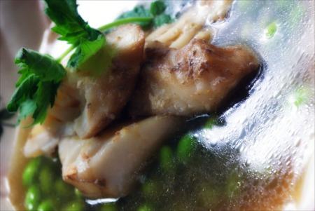 Poached Haddock