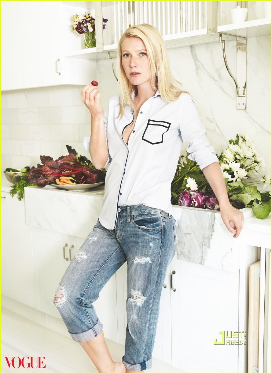 gwyneth paltrow vogue: